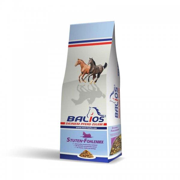 Balios Stuten- und Fohlenmix für Pferde, 20 kg
