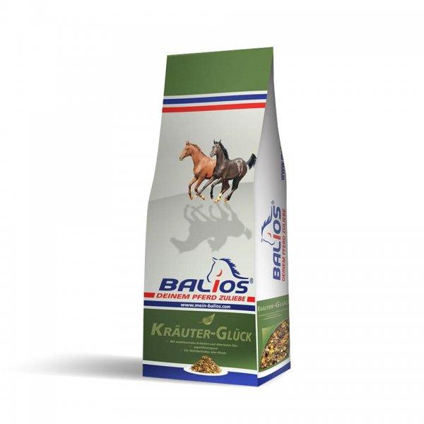Balios Kräuter-Glück für Pferde, 20 kg